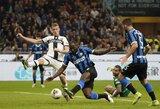 """""""Inter"""" nepasinaudojo galimybe pakilti į pirmą vietą Italijoje"""
