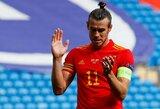 """G.Bale'as prabilo: """"Dėl nieko karjeroje nesigailiu"""""""