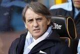 """R.Mancini neigia gandus, siejančius C.Tevezą ir M.Balotelli su """"Milan"""""""