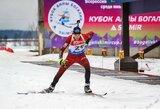 Biatlono rinktinė prieš startus Lozanoje nusiteikusi optimistiškai