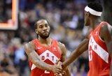 """""""Raptors"""" atsitiesė po skaudžiausio sezono pralaimėjimo"""