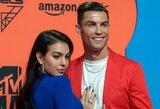 """C.Ronaldo sulaukė nuoširdaus sveikinimo: """"Esi mūsų angelas sargas"""""""