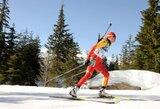 D.Rasimovičiūtė pasaulio biatlono taurės etape Austrijoje iškovojo vietą persekiojimo varžybose