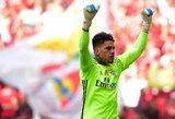 """""""Man City"""" už pasaulyje rekordinę sumą turėtų įsigyti """"Benfica"""" vartininką"""