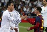 """Vertingiausių pasaulio klubų dešimtuke – """"Real"""" ir """"Barcelona"""" dominavimas"""