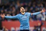 Ispanas D.Villa JAV turės savo futbolo klubą