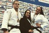 """S.Jablonskytė iškovojo bronzą prestižiniame """"Grand Slam"""" dziudo turnyre"""