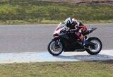 """""""British Superbike"""" motociklų lenktynėse – I.Baublytės debiutas"""
