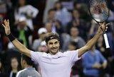 Svajonių finalas įvyks: R.Federeris pasiekė saldų revanšą prieš J.M.Del Potro