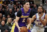 """L.Ballas pasišaipymui iš komandos draugo sukūrė įžeidžiančią dainą, įsikišti nusprendė """"Lakers"""""""