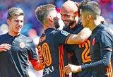 """Puikus S.Zaza pasirodymas garantavo """"Valencia"""" klubui trečią pergalę iš eiles"""