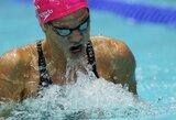 Visiškas dominavimas: J.Jefimova Rusijoje susižėrė tris aukso medalius