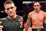 UFC prezidentas užsiminė apie T.Fergusono ir D.Poirier kovą