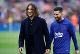 """C.Puyolis išreiškė paramą """"Barceloną"""" palikti norinčiam L.Messi"""
