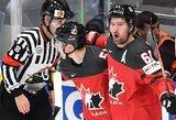 Įtikinamai čekus įveikusi Kanada –pasaulio čempionato finale