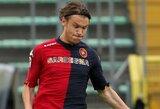"""""""Cagliari"""" pilnai įsigijo saugą A.Ekdalį"""