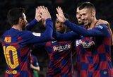 """""""Leganes"""" sutriuškinusi """"Barcelona"""" užtikrintai žengė į Ispanijos Karaliaus taurės ketvirtfinalį"""