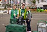 Užtikrinant saugumą Rio de Žaneire bus sekamas kiekvienas sportininkų žingsnis