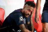 """Ne tą klubą pasveikinęs Neymaras prajuokino """"Bayer"""" atstovus"""