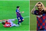 L.Messi vėl išsisuko? Fanai mano, kad jam turėjo būti parodyta tiesioginė raudona kortelė
