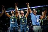 Ispanus sutriuškinę slovėnai – čempionato finale