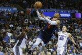 """Galingai sugrįžusio R.Westbrooko neužteko """"Thunder"""" komandos pergalei"""