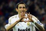 """A.Di Maria savo ateitį susiejo su """"Real"""" klubu"""