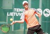 Prezidento taurė: lietuviškame teniso trileryje – R.Vrzesinskio pergalė