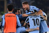 """Nesėkmę prieš """"Lazio"""" patyręs """"Inter"""" nukrito į trečiąją turnyrinės lentelės vietą"""