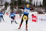 Slidininkas M.Vaičiulis šventė pergalę sprinto lenktynėse Latvijoje