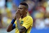 """Neymaras prabilo apie 2014-aisiais pasaulio čempionate patirtą nugaros traumą: """"Negalėjau net judinti kojų"""""""