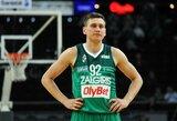 """Žalgirietiškas """"minusas"""": D.Belickaitė krepšinio aikštelėje metė iššūkį E.Ulanovui"""