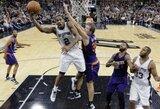 """""""Spurs"""" gynybos gniaužtai surakino Fynikso krepšininkus"""