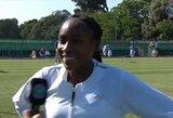 Vimbldonas to nematė per visą šiuolaikinę erą: C.Gauff tapo jauniausia tenisininke, patekusia į pagrindinį etapą