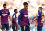 """""""Barcelona"""" ir vėl Ispanijoje prarado taškus – namuose nesugebėjo įveikti """"Athletic"""""""