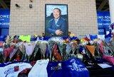 """Pamatykite: pasaulis gedi tragiškai žuvusio """"Leicester City"""" savininko"""