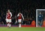 """E.Petitas: """"Arsenal"""" turi taikytis aukščiau, nei P.E.Aubameyangas ar Malcomas"""""""