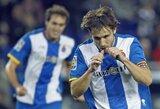 """""""Espanyol"""" klubas atsitiesė ir įveikė """"Sociedad"""""""