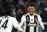 Italijoje triumfavęs C.Ronaldo pasiekė dar vieną rekordą