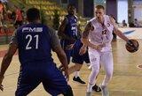 """A.White'as rezultatyviu žaidimu prisidėjo prie """"AX Armani"""" pergalės prieš """"Olympiacos"""""""