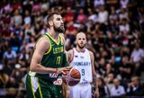 Lietuvos rinktinės pozicija FIBA reitinge nepakito