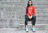 """Tyliai apie olimpines žaidynes svajojanti L.Kančytė: """"Bėgimas nėra vien šypsenos ir """"gėlytės"""""""
