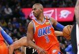 """""""Knicks"""" tiki, kad komandą gali atgaivinti Ch.Paulas"""