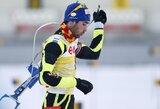 M.Fourcade'o ir T.Berger pergalėmis baigėsi pasaulio biatlono taurės etapas Vokietijoje