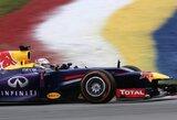 Lietumi paįvairintoje Malaizijos GP kvalifikacijoje triumfavo S.Vettelis