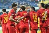 Juodkalnijos rinktinė į Lietuvą atvyksta su ryškiausiomis žvaigždėmis