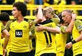 """""""Borussia"""" namuose susitvarkė su """"Augsburg"""" futbolininkais"""