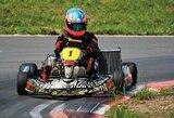 Kartingo lenktynininkai sezono vidurį sutiks Aukštadvaryje