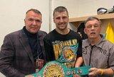 Su lietuviu E.Klimu dirbantis ukrainietis O.Gvozdykas nokautavo A.Stevensoną, išsiuntė jį į ligoninę bei iškovojo WBC čempiono titulą