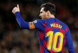 L.Messi perdavė širdingą žinutę gerbėjams dėl koronaviruso